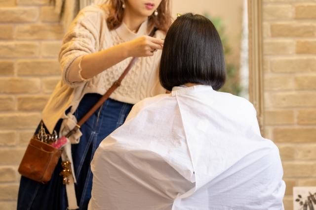 訪問美容師